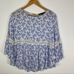 Romeo & Juliet boho blusa size 6
